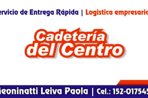 Cadetería en Córdoba. Cadetería del Centro.Mensajería, Paquetería