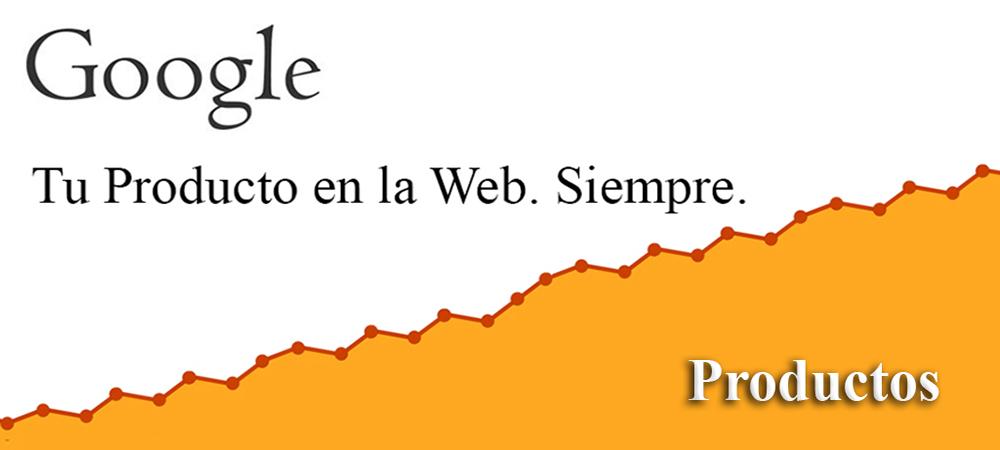 Posicionamiento en Web Inicio Productos