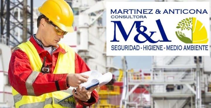 Seguridad e Higiene Laboral en Córdoba. MARTINEZ & ANTICONA Consultora. Posicionamiento en Web en Córdoba