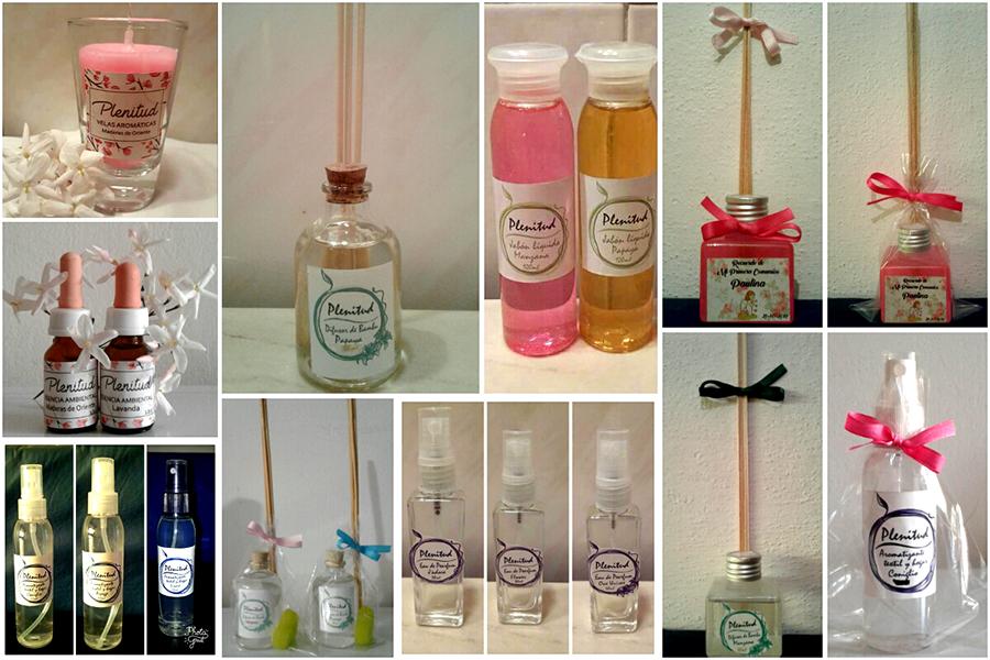Productos Aromáticos en Córdoba Capital. Productos Artesanales Plenitud. Posicionamiento en Web.