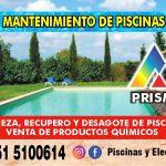 Mantenimiento de Parques y Piscinas en Carlos Paz Prismar